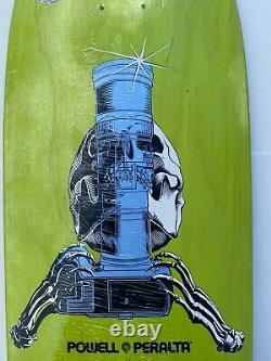 Powell Peralta X J. Grant Brittain Skateboard Deck #35/99 Skull Sword Ray Bones