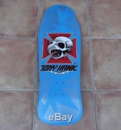 Powell Peralta made in 1983 TONY HAWK VINTAGE Skateboard Deck skull Chicken