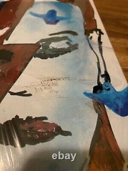 Primewood LA Jason Lee Mark Gonzales David Bowie Skateboard Deck Red RARE