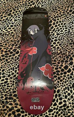 Primitive x Naruto Shippuden Itachi Skateboard Limited Neal Crows SOLD OUT RARE