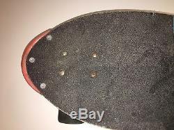 RARE Chris Miller Lizard Skateboard 1987 G&S Vintage
