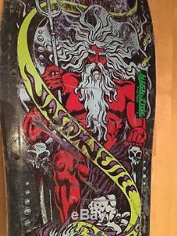RARE Jason Jessee Santa Cruz Skateboard Deck (Vintage non-reissue)