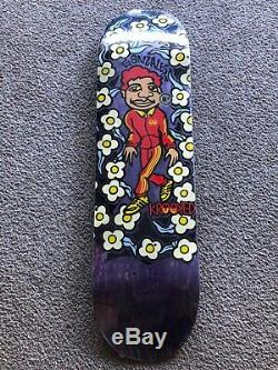 RARE Krooked Sweatpants skateboard deck GONZ Gonzales Hosoi vision supreme