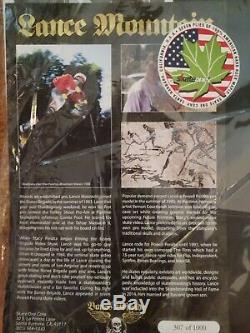 RARE Lance Mountain Bones Brigade Series 8 #307/1000 Powell Peralta Skateboard