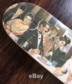 RARE POWELL PERALTA 1993 Lance Conklin Last Supper Slick Vintage OG Skateboard