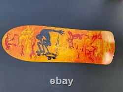 RARE! Powell Peralta Lance Mountain Skateboard Deck Bones Brigade