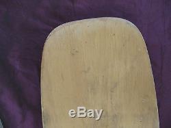 RARE Vintage 70's Santa Cruz 5-ply Skateboard Deck 33 DOGTOWN