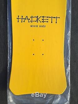 Rad Rare 1986 Dave Hackett Street Sicle Skull Skates Original Skateboard Deck