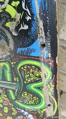 Rare 80s Old School Sims Kevin Staab Pirate Skateboard Deck (Rough), Vintage