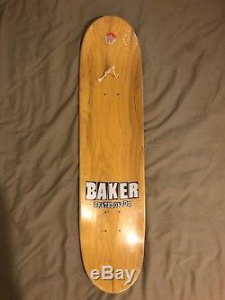 Rare Baker Aqua Teen Hunger Force Kevin Spanky Long Skateboard Deck NOS ATHF