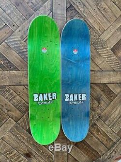 Rare Baker Skateboards Andrew Reynolds/Elissa Steamer Player Select Tony Hawk