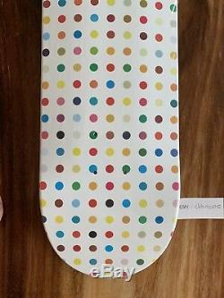 Rare Damien Hirst Supreme Skateboard Deck Dot #1
