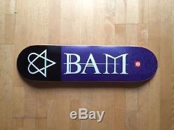 Rare Element Bam Margera HIM I Skateboard Deck 2001