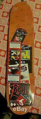 Rare KAWS + REAL SKATEBOARD DECK (Supreme, Retna, Banksy, Hirst, Murakami)