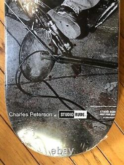 Rare Kurt Cobain Skateboard Nirvana Charles Peterson Limited NOS Skate