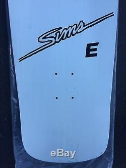 Rare NOS 1983 SIMS Lester Kasai Splash Vintage Skateboard Deck