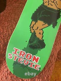 Rare Nintendo Punch Out DGK Skateboard Deck Stevie Williams Tyson C&d NES