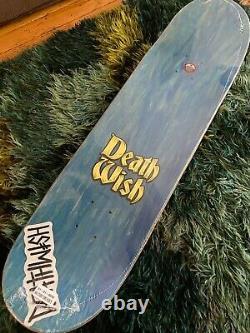 Rare Snow White Story Time Neen Williams DeathWish Skateboard Deck Cease & Desit