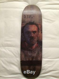 Rare Vintage Danny Way Plan B 90's Silence of the Lambs Skateboard Deck