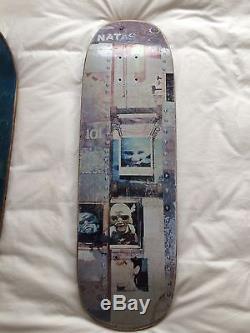 Rare Vintage Natas Kaupas 101 Bolt 90's Skateboard Deck 3 Day Auction