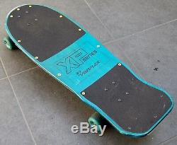 Rare Vintage Variflex Xp Series Matrix Design Skateboard Deck 1986 Nmb Bearings