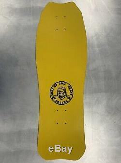 Rarest Vintage 1986 Zorlac Skateboard Deck Devilfish