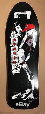 Ray Barbee Ragdoll Re-Issue Black Powell Peralta Skateboard Deck