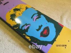 Rob Dyrdek Andy Warhol Alien Workshop Skateboard Deck