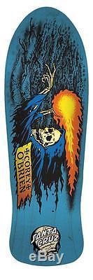 SANTA CRUZ Corey O'Brien Reaper Skateboard Deck 9.85 by 30.0 Blue