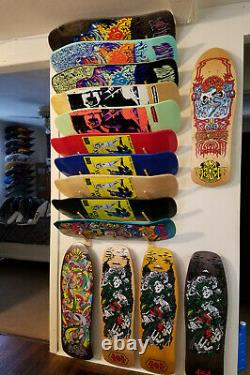 SANTA CRUZ, MADRID 150 deck reissue skateboard collection. Rare. TAKE A L@@K