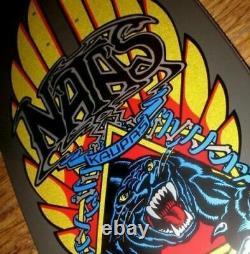 SANTA CRUZ / SMA Natas Panther Skateboard Deck Candy Black Metallic