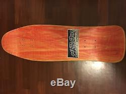 Santa Cruz Tom Knox Dischord Nos Skateboard Deck Vintage