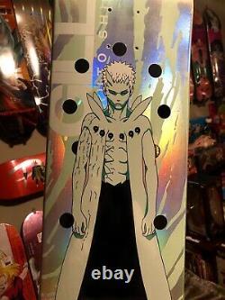 SECRET RARE Primitive Skate x Naruto OBITO Anime Skateboard Deck SOLD OUT