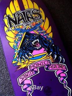 SMA Natas Kaupas NOS Skateboard Deck Santa Cruz Powell Peralta