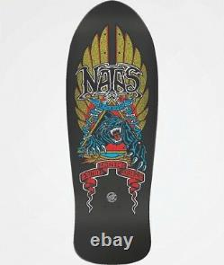 SMA Natas Kaupas Panther Reissue skateboard Deck by Santa Cruz
