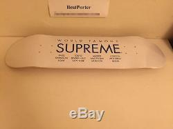 Supreme 2015 S/s International Cdg Box Logo Skateboard Deck Koons Black Murakami