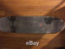 SUPREME E. T. Skateboard Deck et box logo F/W15