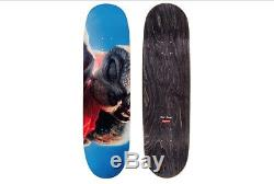 Supreme X Et Extra Terrestrial Skate Deck Red Box Logo Skateboard E. T Wood Fw15