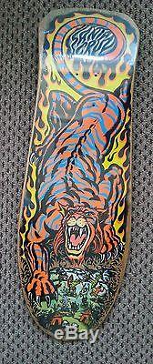 Salba Tiger 1989 NOS Santa Cruz skateboard Deck grosso zorlac powell 80s
