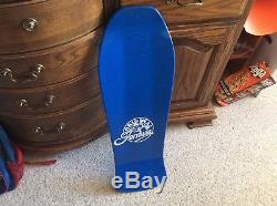 Santa Cruz Bart Simpson Toy Box Jeff Grosso Tribute Mint Rare Skateboard Reissue