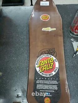 Santa Cruz Bod Boyle Sick Cat Reissue Skateboard Deck 9.99in