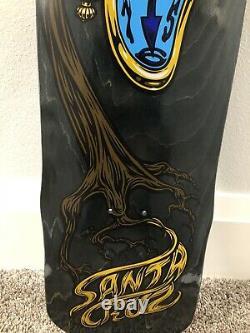 Santa Cruz Claus Grabke Skateboard Dali Clock Jim Phillips Jimbo NHS NOS OG Deck