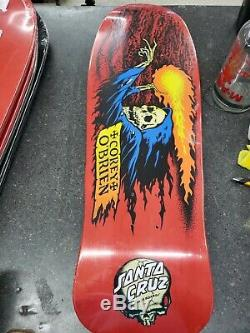Santa Cruz Corey OBrien Reaper Reissue Skateboard Deck
