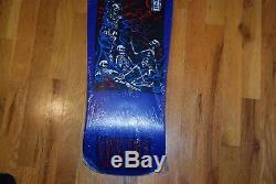 Santa Cruz Corey O'Brien Purgatory Skateboard Deck NOS Kevin Marburg purple art