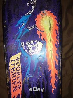 Santa Cruz Corey O'Brien Reaper Skateboard Deck Original