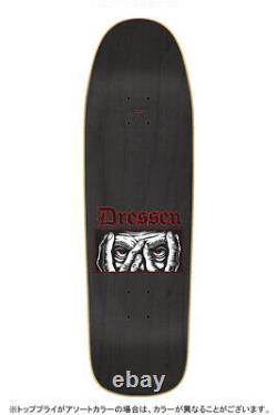 Santa Cruz DRESSEN EYES EVERSLICK Skateboard 9.31 inch last one