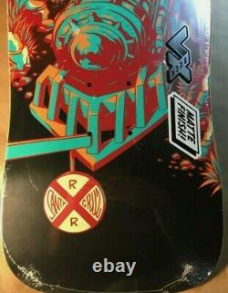 Santa Cruz Erick Winkowski Train Preissue VX Skateboard Deck Old School