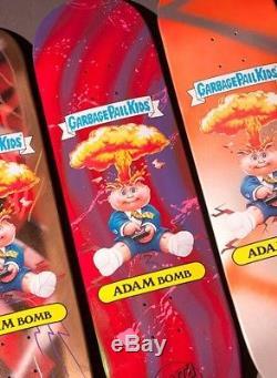 Santa Cruz Garbage Pail Kids GPK Adam Bomb Super Rare Custom Skateboard Deck