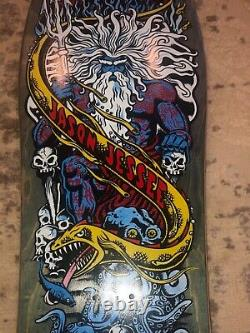 Santa Cruz Jason Jessee Neptune 2 Skateboard Reissue Deck New Unused Screened