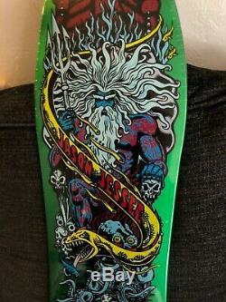 Santa Cruz Jason Jessee Neptune Reissue Skateboard Deck